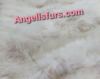 FUR For HOME!Brand New Real Natural SHEEP Throw Blanket Carpet!