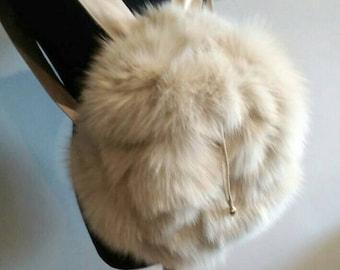 Shoulder Fox Bag!New and Natural,Real Fur Bag!