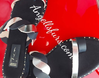 REAL LEATHER SANDALS!Summer 2021 New Collection!