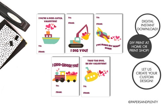 photograph about I Choo Choo Choose You Printable Card named Electronic History - Printable Cars and trucks Valentine Playing cards for Little ones (Do it yourself) mounted of 8  Valentine Car or truck Playing cards Children Valentine Playing cards Autos Valentines