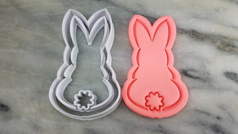 Mermaid Tail Cookie Cutter 2-Piece Outline /& Stamp #1