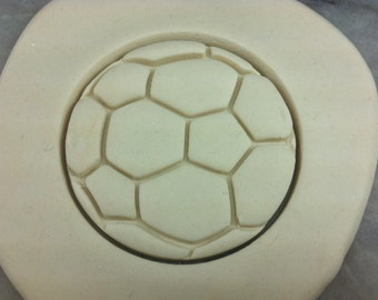 Soccer Ball Cookie Cutter - SHARP EDGES - FAST Shipping - Choose Your Own Size!