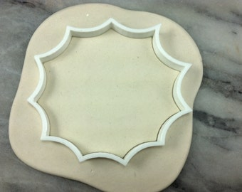 Spider Web Cookie Cutter Outline - SHARP EDGES - FAST Shipping - Choose Your Own Size!