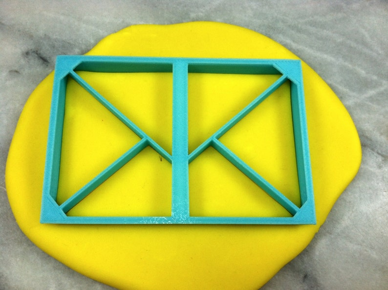 Envelope Cookie Cutter Detailed SHARP EDGES FAST Shipping