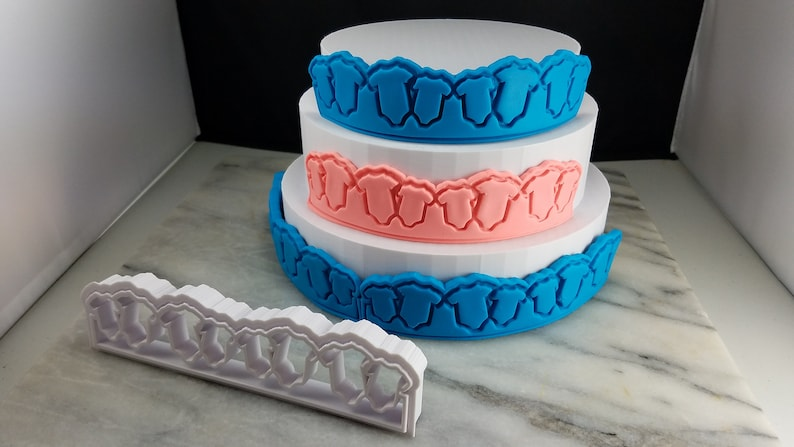 Ultra Fast Shipping! Sharp Edges Baby One-Piece Fondant Cake Cutters