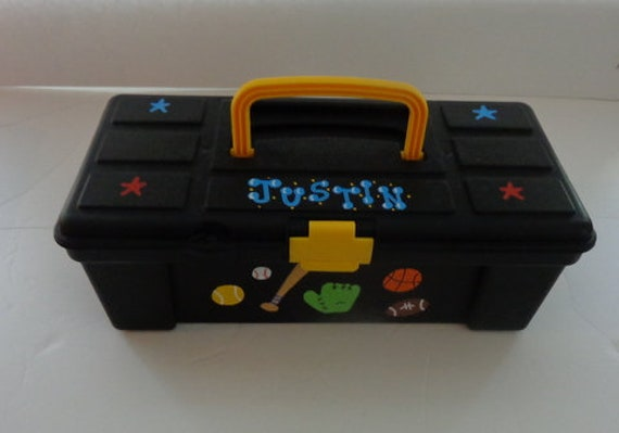 Bon Boys Personalized Storage Box/Toolbox/Tackle Box/Accessory Case
