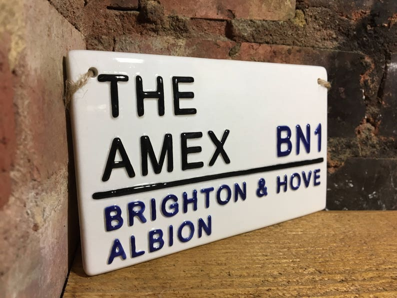FULHAM  COTTAGERS FAN  FOOTBALL PLAQUE SIGN