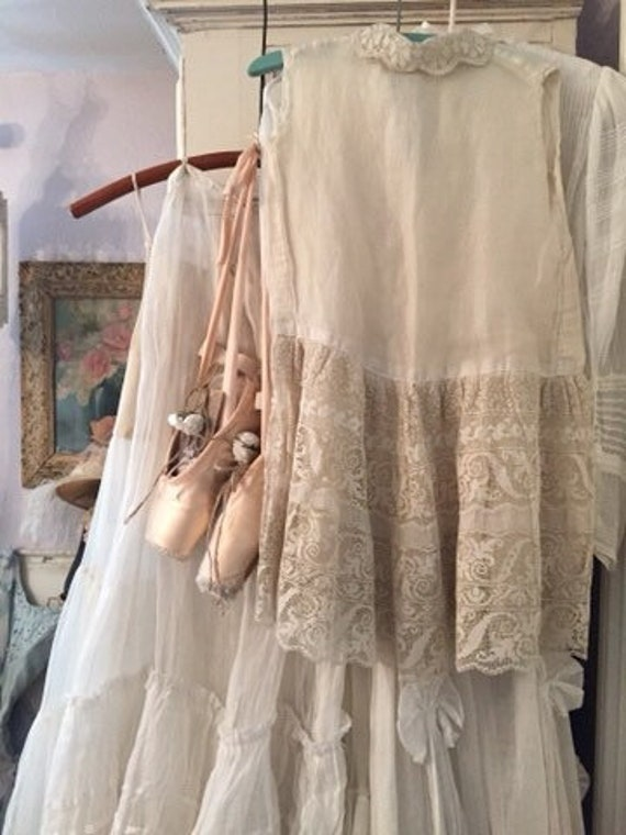 Antique French Child's Dress