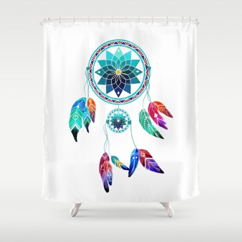 Dream Catcher Shower Curtain 71 In X 74 Dreamcatcher