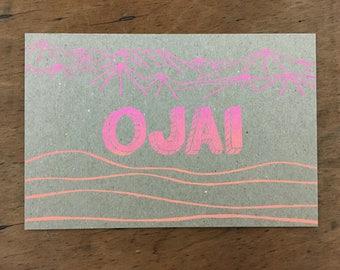 Ojai Postcard