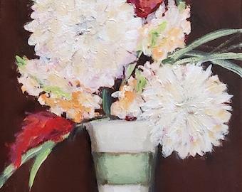 Floral in Stripe