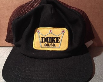 Vintage Duke Oil Company snapback hat bc64ac25b1a8