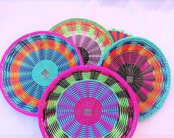 multicolor mexican basket (small)