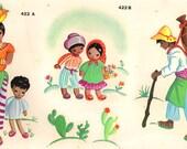Vintage Duro Decal Retro Mexican Folk Southwestern Spanish Latino 422ABC