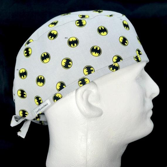 6c2dad75241fc ... france batman comics fitted mens surgical surgeons cap scrub etsy b6247  3e7bc