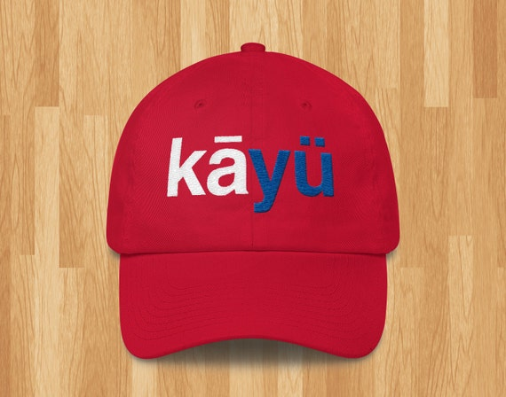8c18ab0669c Phonetic Kansas (KU) Embroidered Baseball Cap