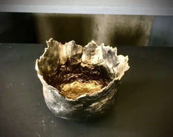 clay cactus pot