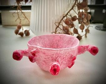 clay poncha plant pot small