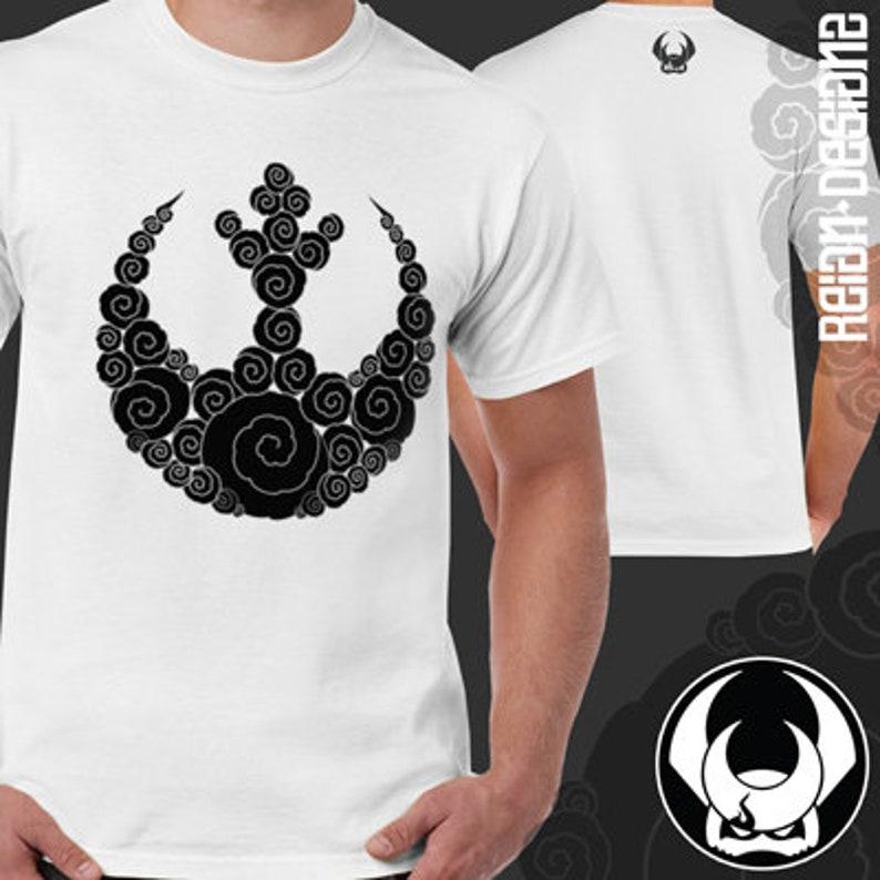70a3539dd Rebel Alliance Black Cloud Insignia Shirt Star Wars inspired | Etsy