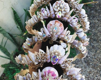 mermaid crowns -custom made