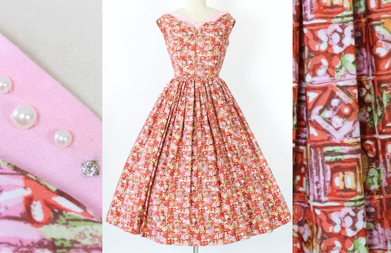 Novelty Cotton Dress | Medium