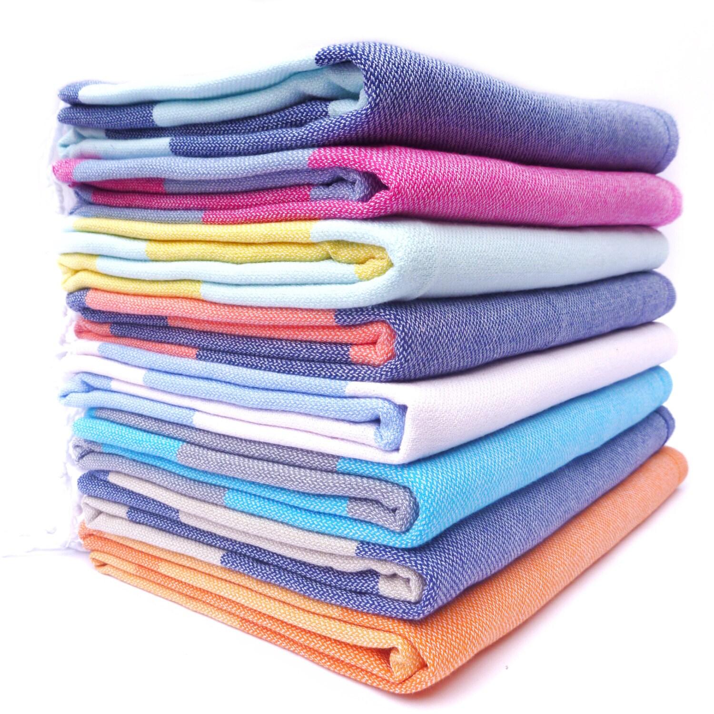 Travel Towel Japan: Set Of 3 Adventure Travel Towels Turkish Towel 100% Cotton