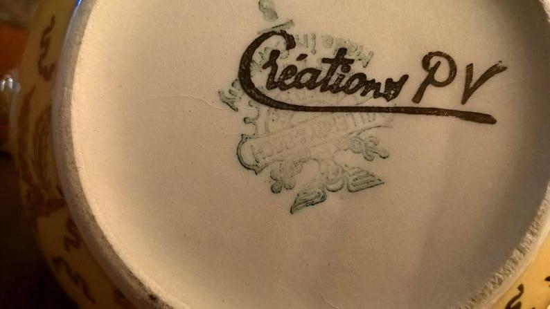 kitchen item vintage object gift Milk jug in ceramic decorative object milk jug 1930s MADE IN GERMANY vintage