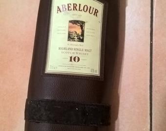 Door bottle of Scotch/door bottles Vintage/labeled distillery ABERLOUR/object of Collection/idea gift/spirits.
