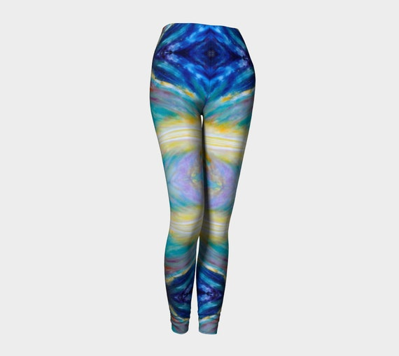 Athletic Party Space Dandy Leggings Space Nebula Work Out Art Mystical Painting Baroque Tights Festival Constellation Stars