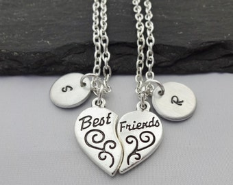 Friendship Necklace, Best Friends Necklace, Two Necklaces, Best Friend Jewelry, Necklace Set, Gift, Friendship Jewellery, Friendship Gifts