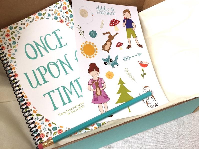 Kids Gift Ideas Writing Kit For Girls Writers
