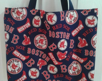 fb9ccc7ed6d Boston Red Sox Cooperstown print tote bag