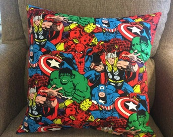 Super Hero's pillow cover