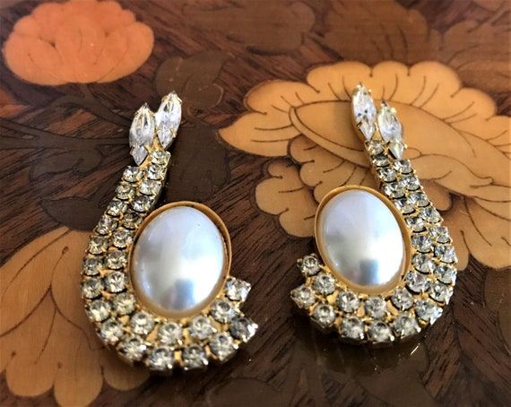 Nancy Katz Shoe Clips Gold Tone Shoe Clips Bluette Made In France