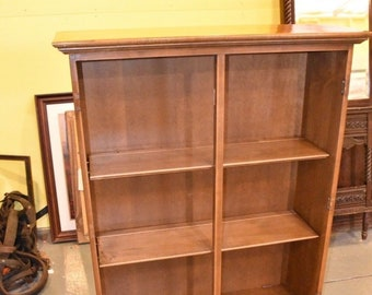 Vintage Ethan Allen Bookcase Bookshelf