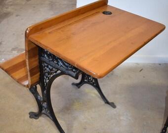 Marvelous Antique Childs Desk Etsy Short Links Chair Design For Home Short Linksinfo