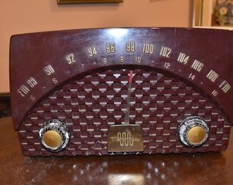 Vintage Antique Art Deco Motorola Tube Radio Model 7XM