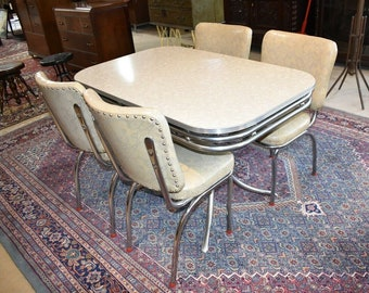 1950s Kitchen Table And Chairs Etsy