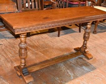 Cool Antique Sofa Table Etsy Download Free Architecture Designs Oxytwazosbritishbridgeorg