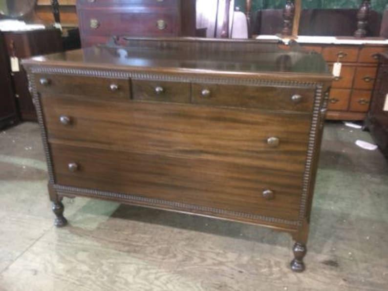 Vintage Antique Bedroom Dresser Or Dining Room Buffet