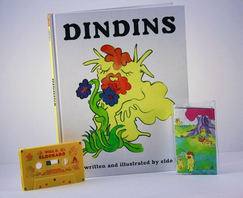 DinDins Hardcover & Eldorado cassette tape  Adult Coloring image 0