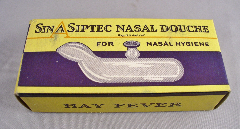 Unusual Sin A Siptec Nasal Douch Circa 1910s Nasal Hygiene Etsy