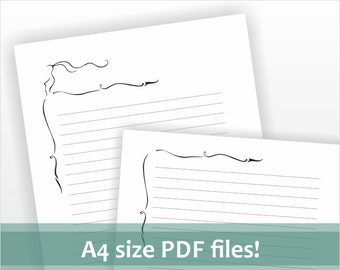 printable a4 size lined paper - Icard cmi-c org