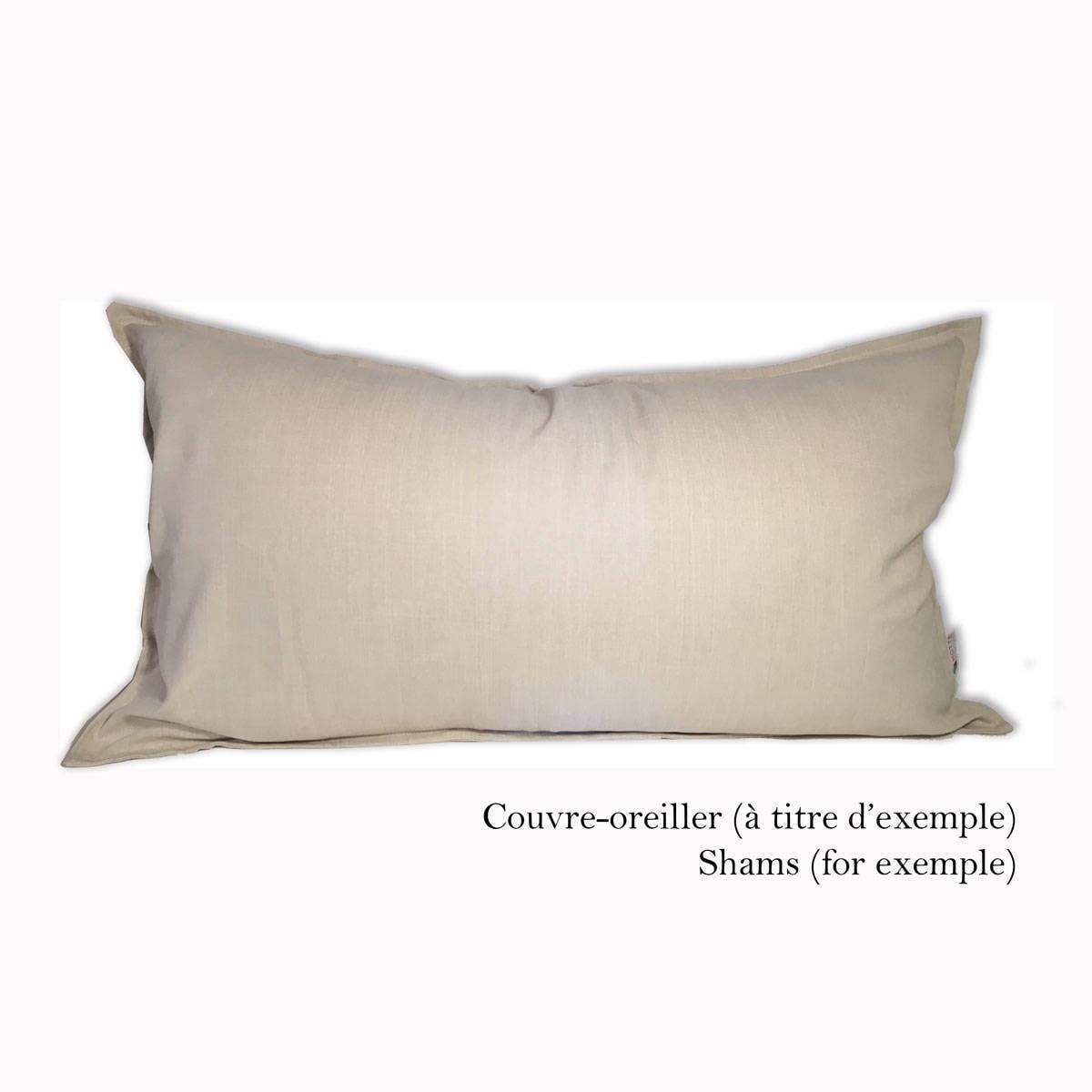 Housse de couette à motif colorblock, bande de couleur, housse de lit, habillage de lit, chambre à coucher, couvre-lit Gris & Vert Sauge