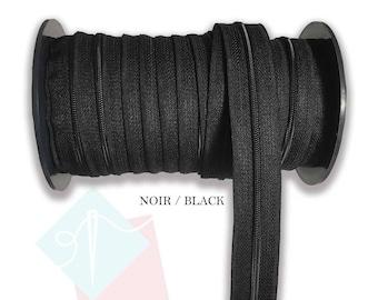Zipper by the meter, zipper by the yard, zipper meter, zipper yard, DIY project, zipper, choice of colors, zipper rolls, sewing accessories
