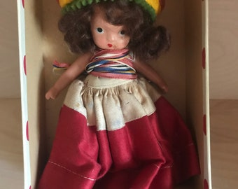Nancy Ann Storybook Doll All Around the World Mexico
