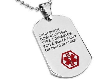 Medical alert | Etsy