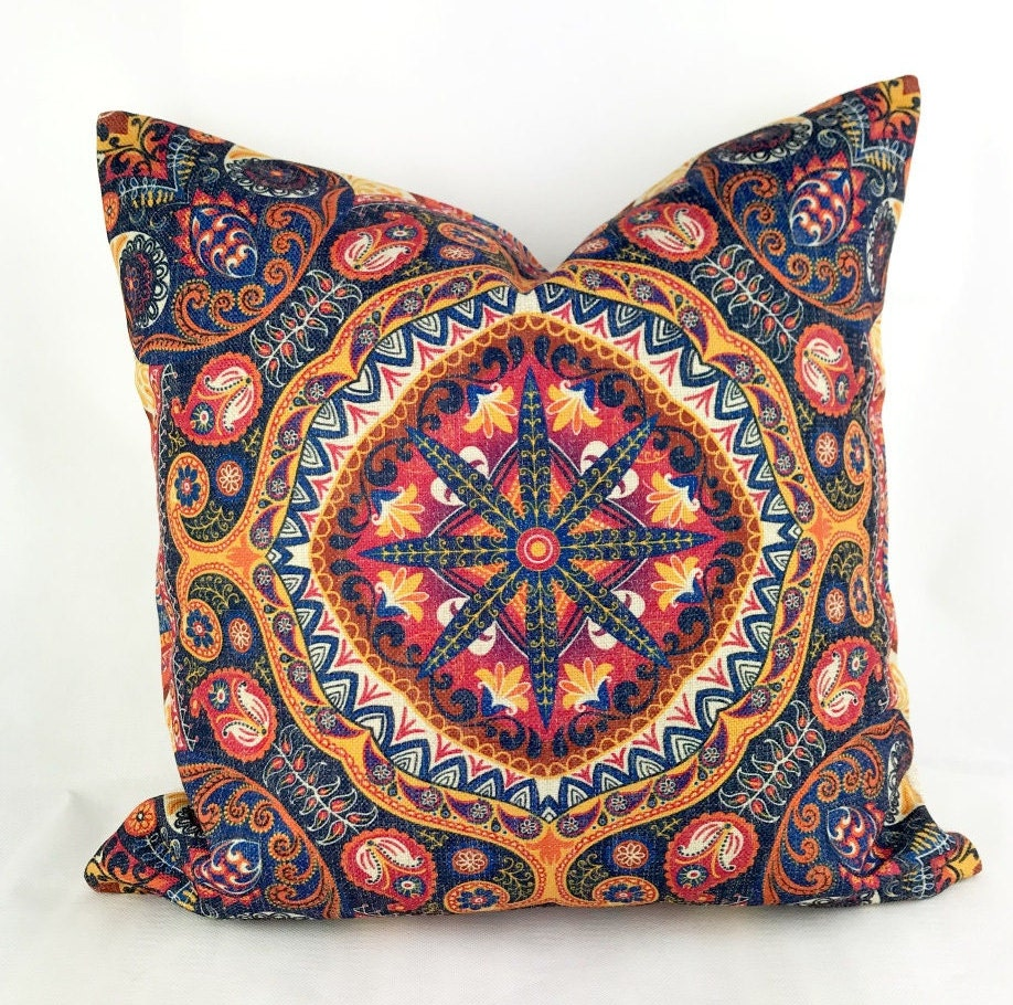 Bohemian Cushion Hippie Cushion Boho Cushions Bohemian