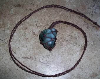 Emerald Hemp Necklace