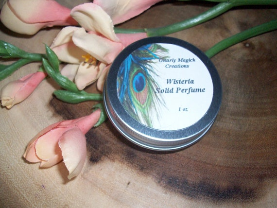 Wisteria Solid Perfume 1 oz